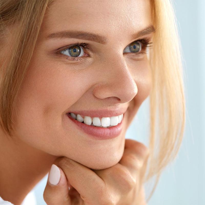 imagem mulher sorrindo
